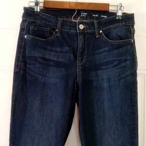 crown & Ivy five pocket straight jeans